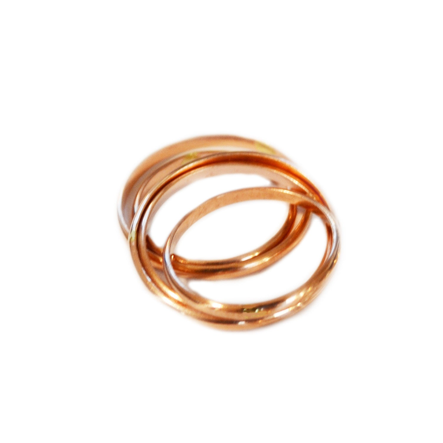 Thin 14K Rose Gold Ring