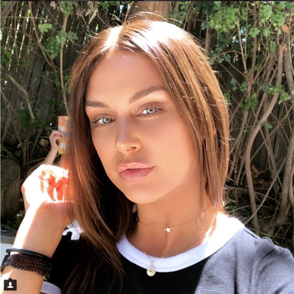 3rd eye charm necklace as seen on Lala Kent
