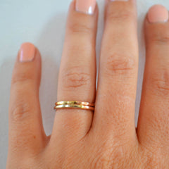 Aura Ring, 14K Gold