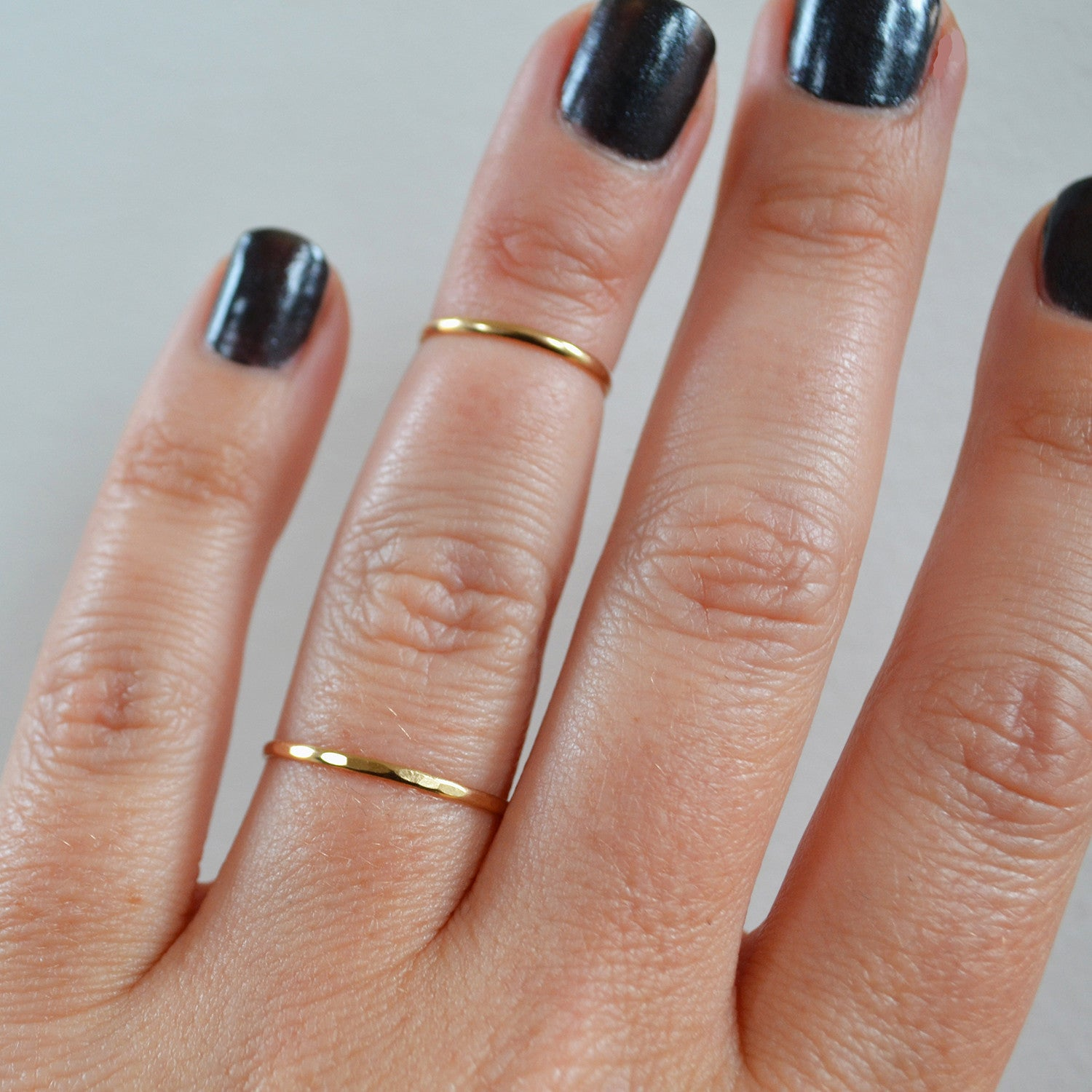 Thin 14K Gold Ring
