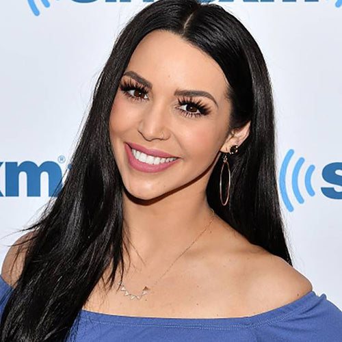 wave hoop earrings worn by  Scheana Shay