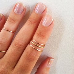 Set of 3 Stacking Knuckle Rings