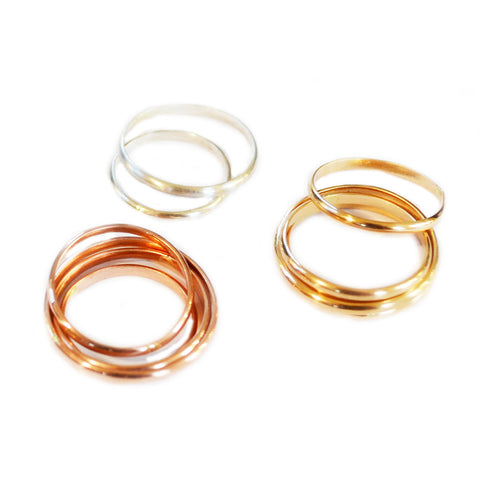 Stacking Knuckle Ring