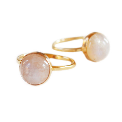 Marquise Signet Ring - Mother of Pearl