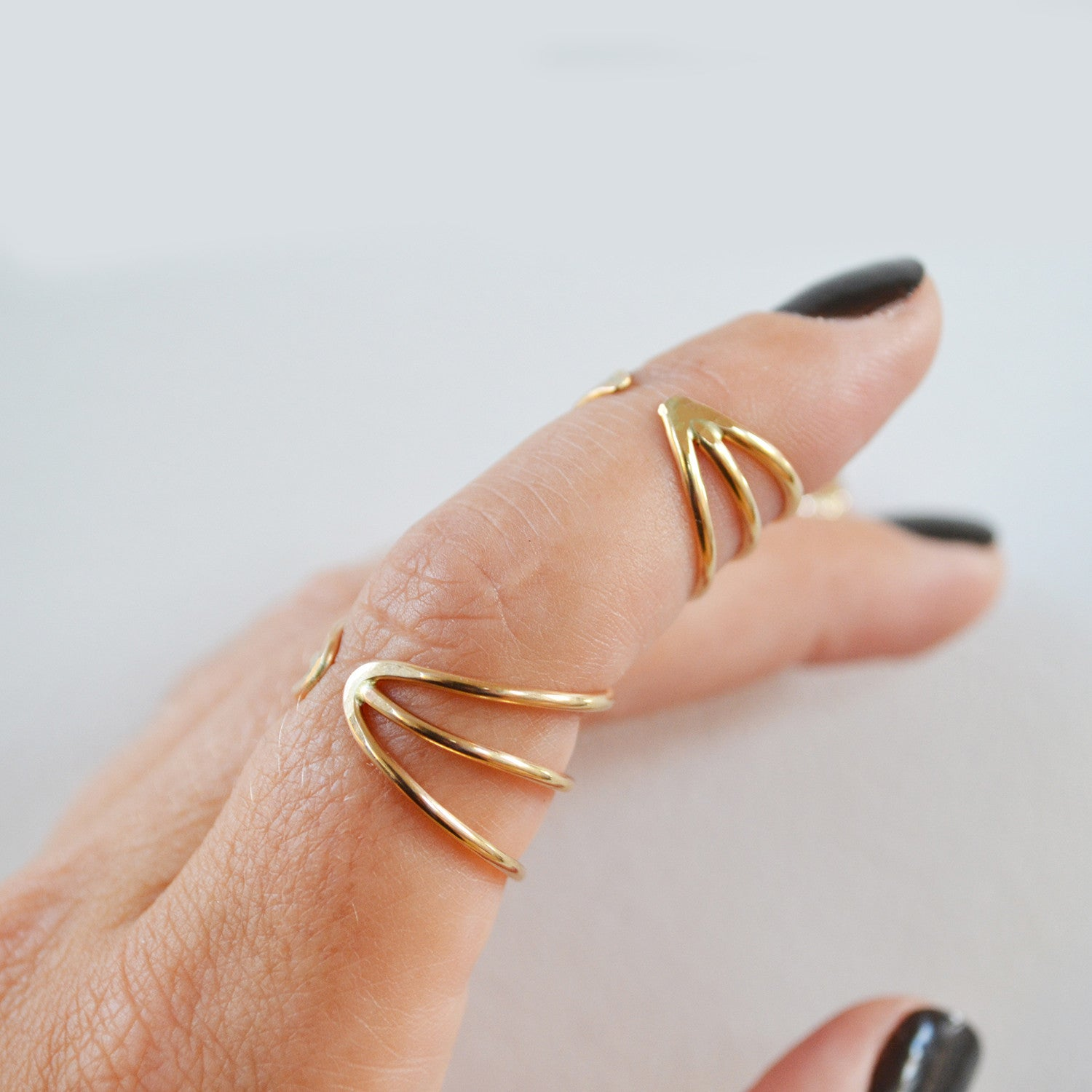 Orbit Ring, Gold or Silver