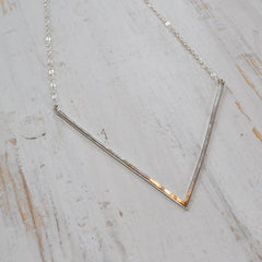 Venus Necklace, Gold Filled and Sterling Silver