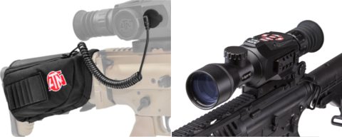 ATN X-SIGHT II HD 3-14x with Eternal Stock Mounted Battery Pack.