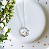 Circle Dot Necklace
