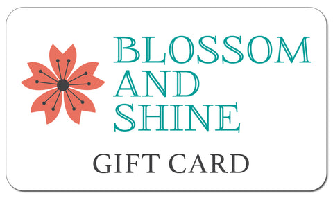 Blossom and Shine gift card