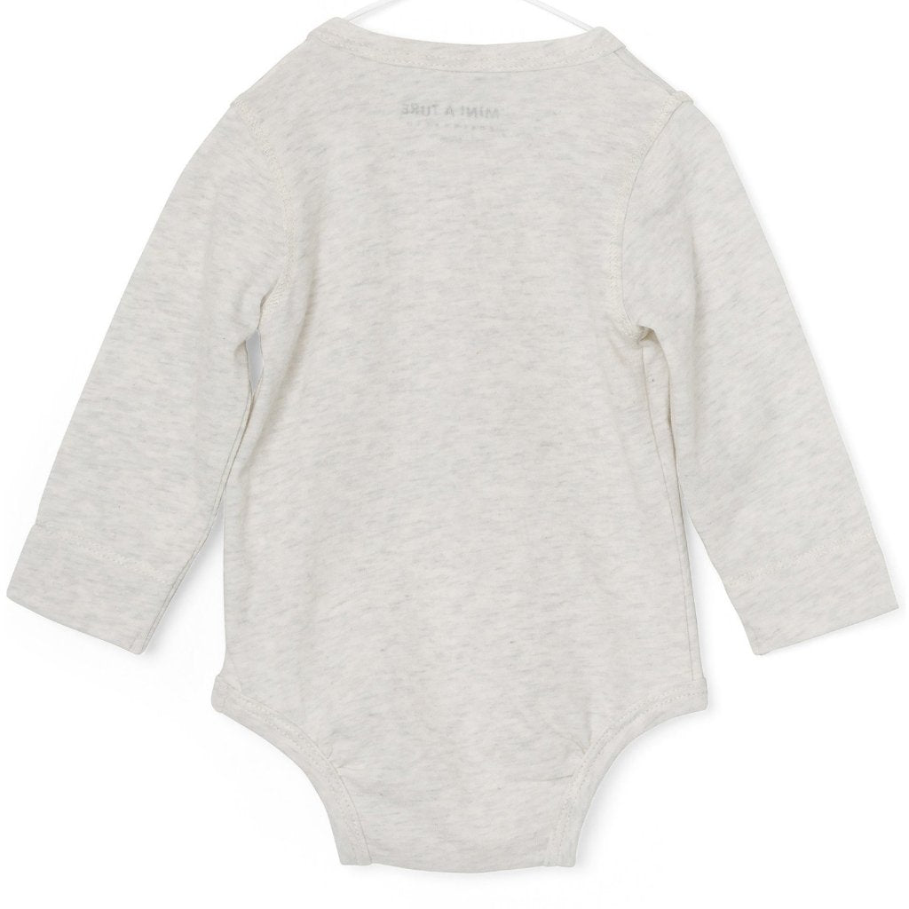 Mini A Ture - Body, Artur - Light Grey Melange