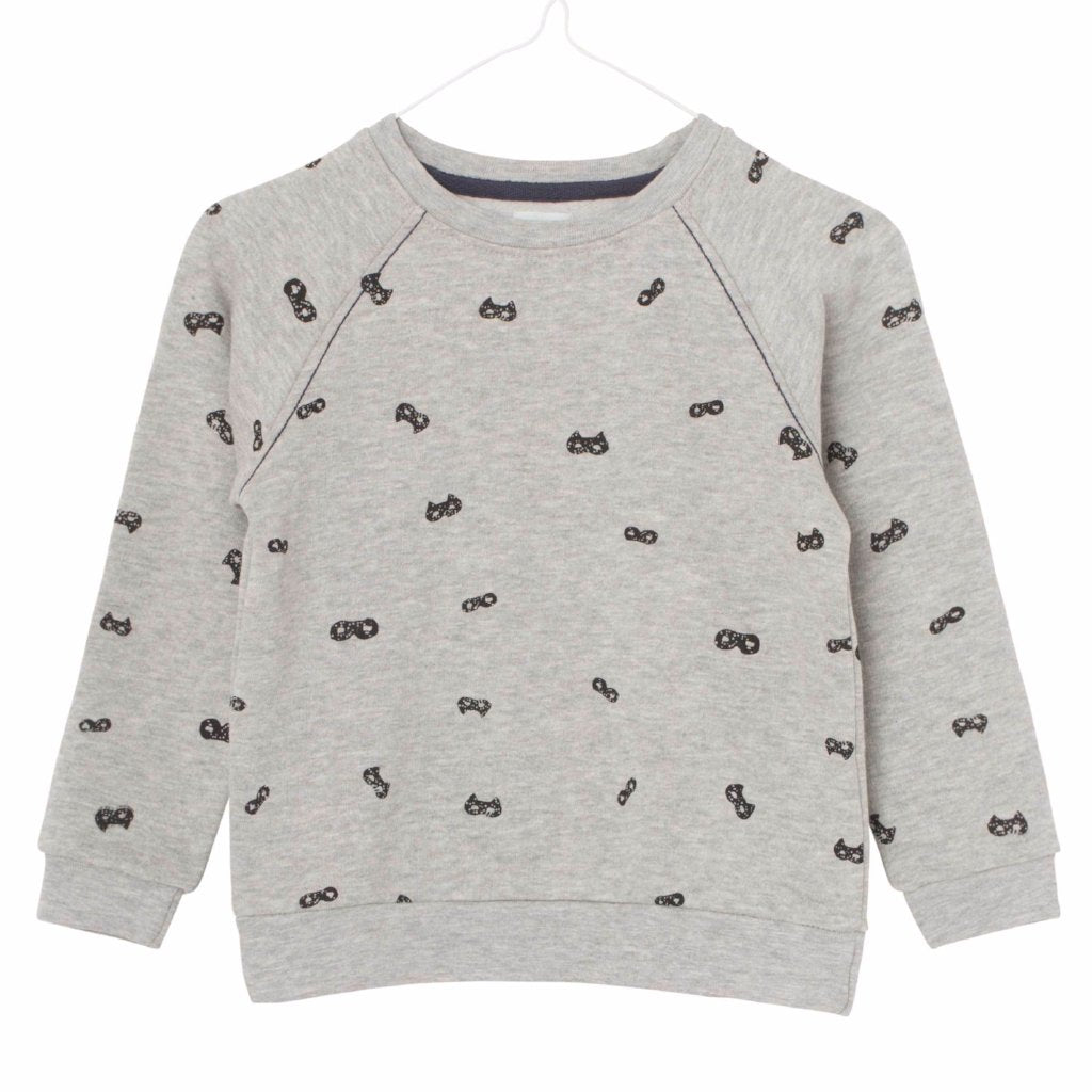 Image of   Mini A Ture - Bluse, Jerome - Light Grey Melange