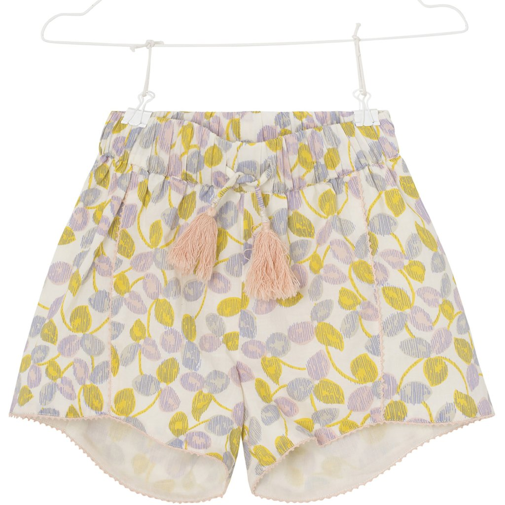 Mini A Ture - Shorts, Charlien - Yellow Lemon