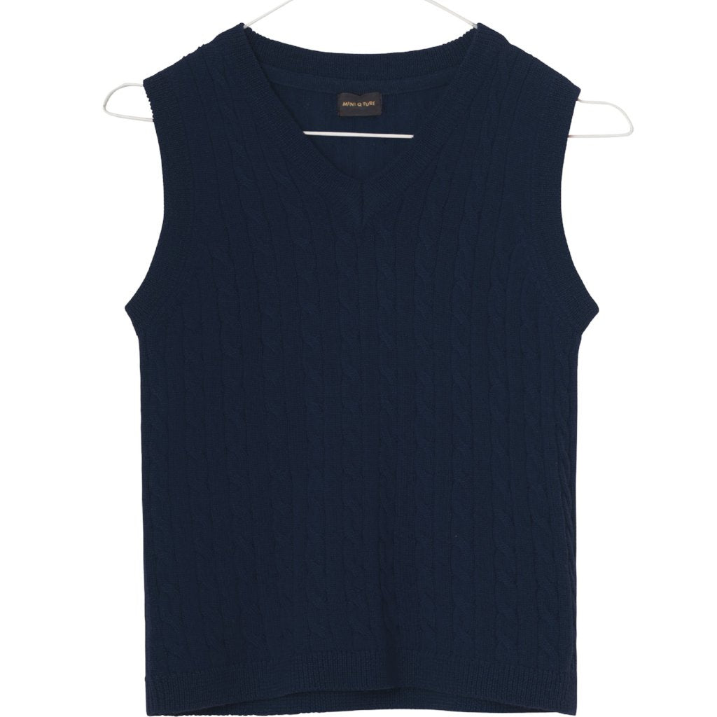 Image of   Mini Q Ture - Robbi Vest, MK - Sky Captain Blue