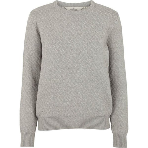 Basic Apparel - Sweater, Tea - Grey Melange
