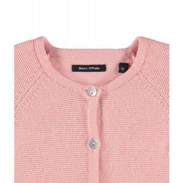Marc O'Polo Junior - Baby Cardigan - Rose