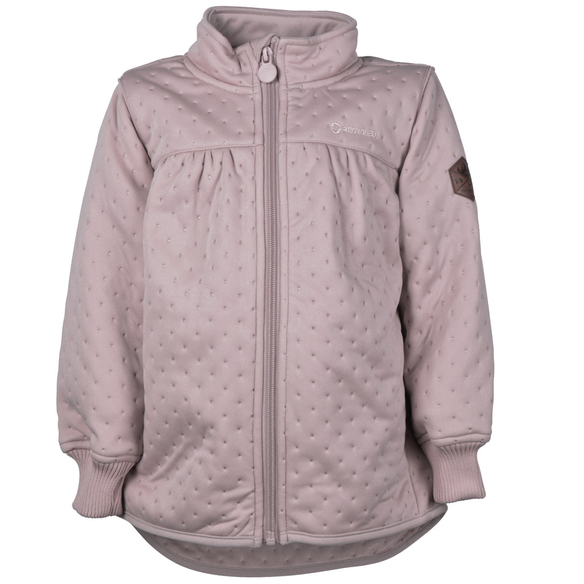 Mikk-Line - Soft Thermo Girl Jacket, Recycled - Adobe Rose