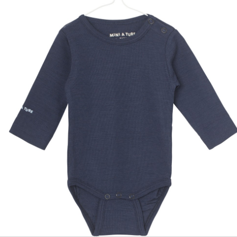 Mini A Ture - Body LS, Ellis - Mood Indigo (Basis)