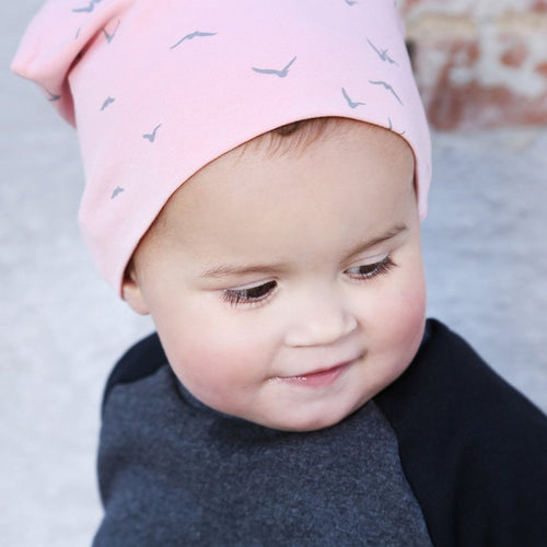 Petit by V - Beanie, Nordic - Dusty Rose (GOTS)