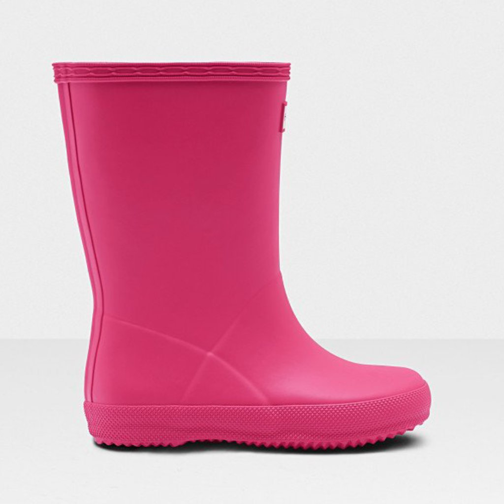 Image of   Hunter - Gummistøvle, Original Kids First Classic - Bright Pink