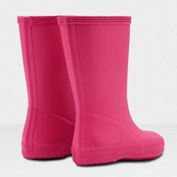 Hunter - Gummistøvle, Original Kids First Classic - Bright Pink