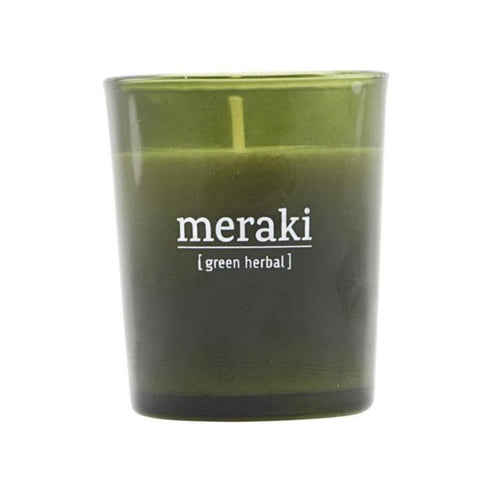 Meraki - Duftlys - Green Herbal, Small