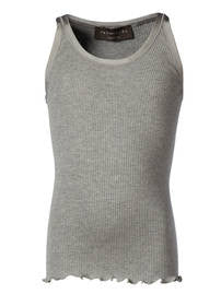 Image of   Rosemunde - Basis tank top - light grey melange