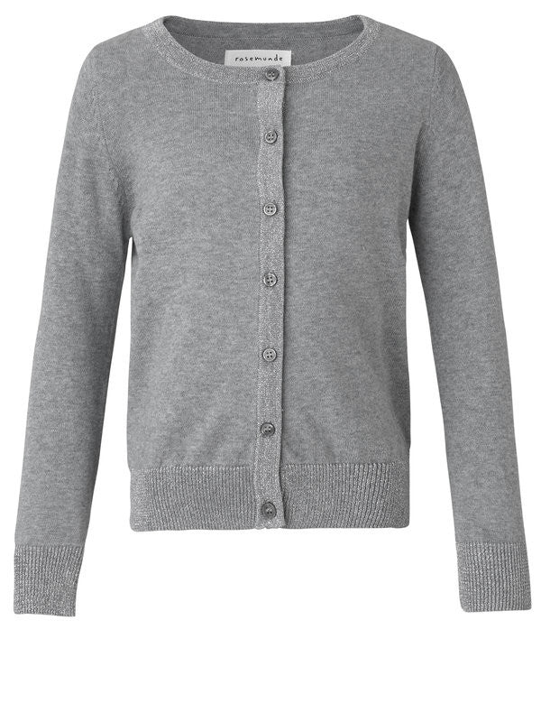 Image of   Rosemunde - Cardigan (74149) - Light Grey Melange