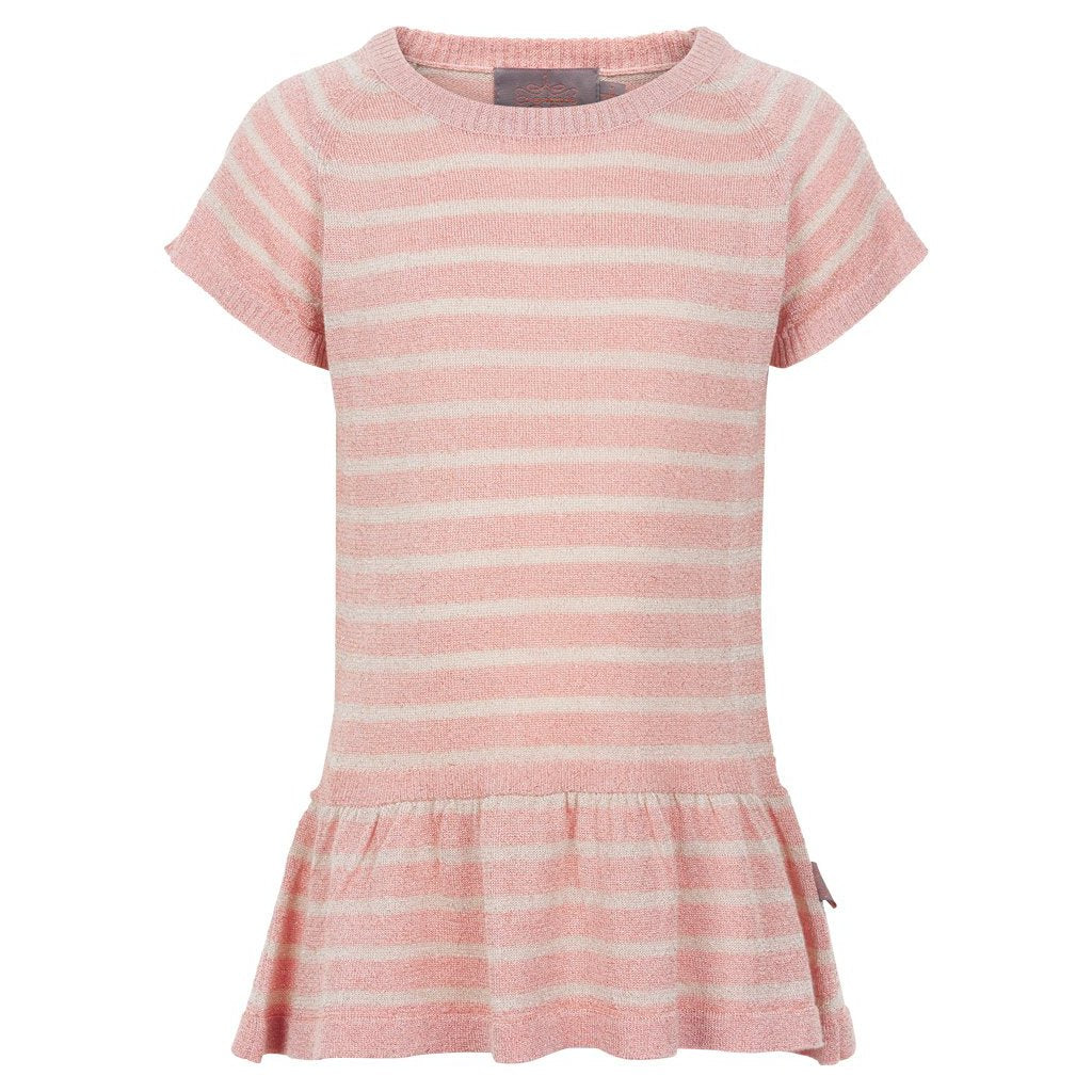 Creamie - Pullover SS Striped (820611) - Rose Smoke