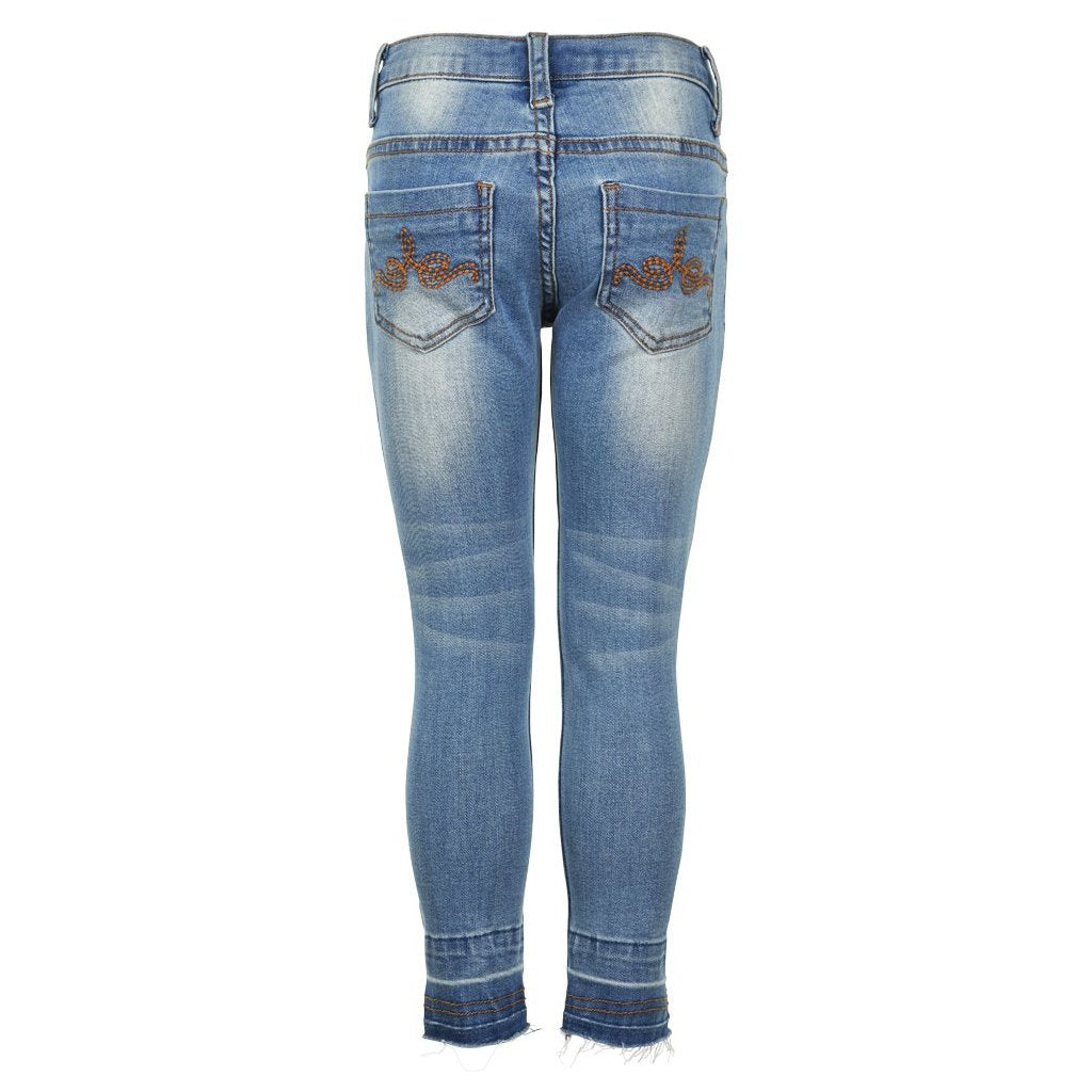 Creamie - Jeans Demin 3/4 (820652) - Blue Denim