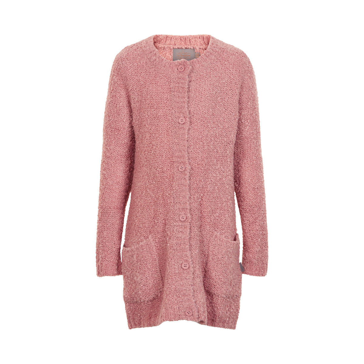 Image of   Creamie - Cardigan Bouclé Knit (820860) - Rose Dusty