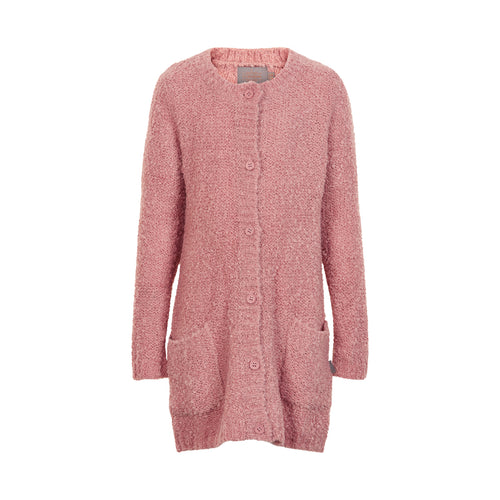 Creamie - Cardigan Bouclé Knit (820860) - Rose Dusty