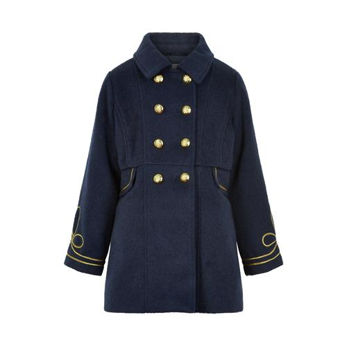 Creamie - Coat Structure (820866) - Navy Night