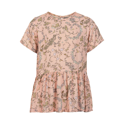 Creamie - Blouse Wimsical Print SS (821166) - Rose Smoke