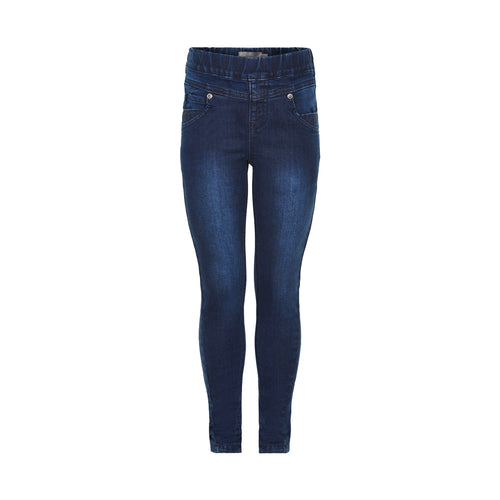Creamie - Jeggings (821197) - Dark Blue Denim