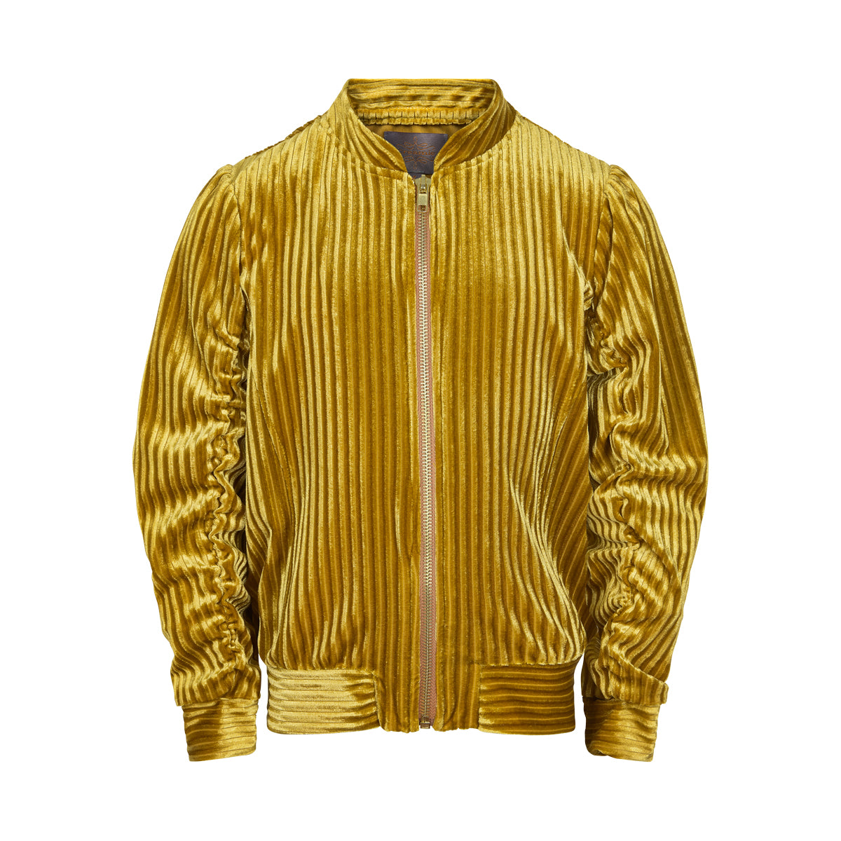 Image of   Creamie - Bomber Jacket Velvet (821262) - Harvest Gold