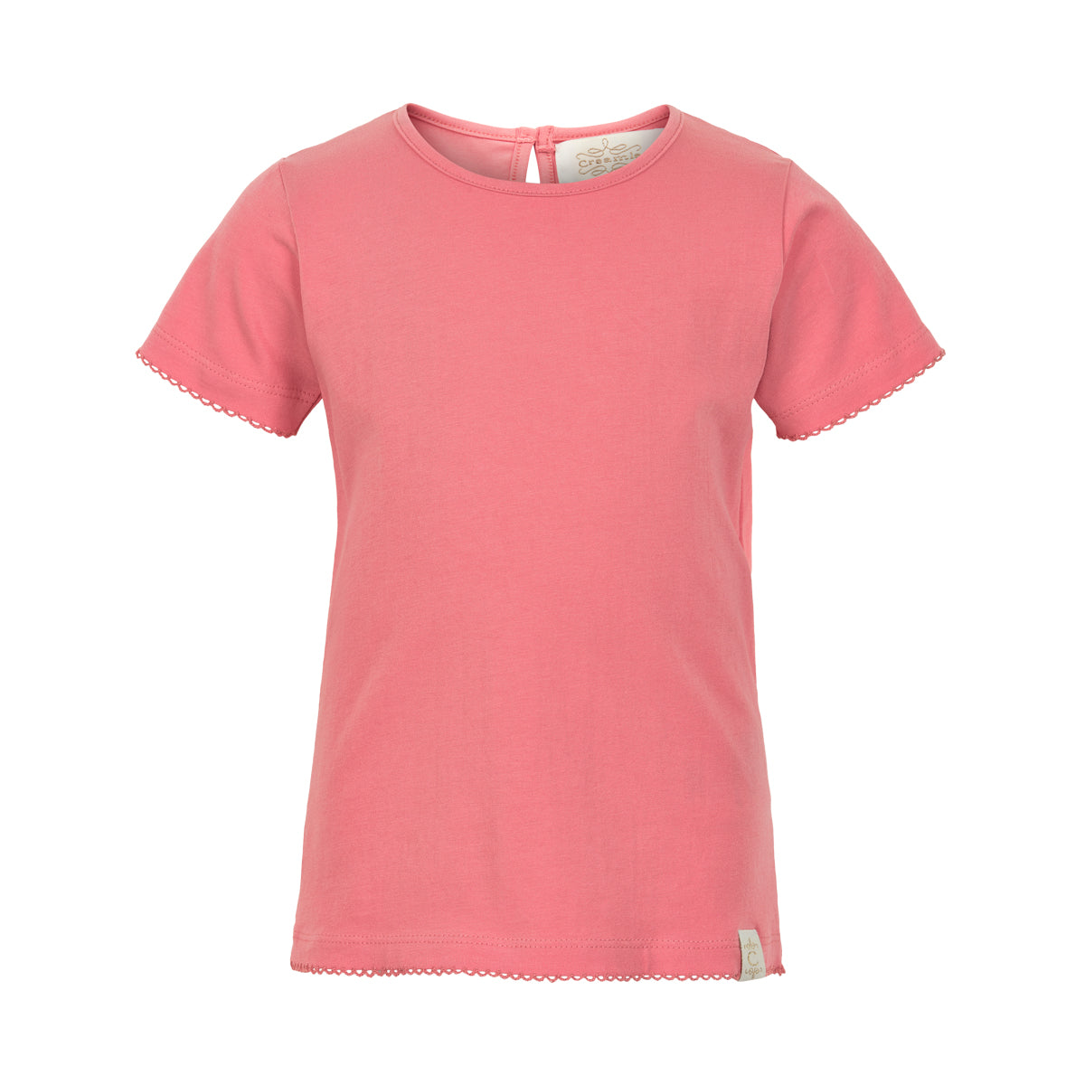 Creamie - T-shirt SS (840089) - Salmon Rose