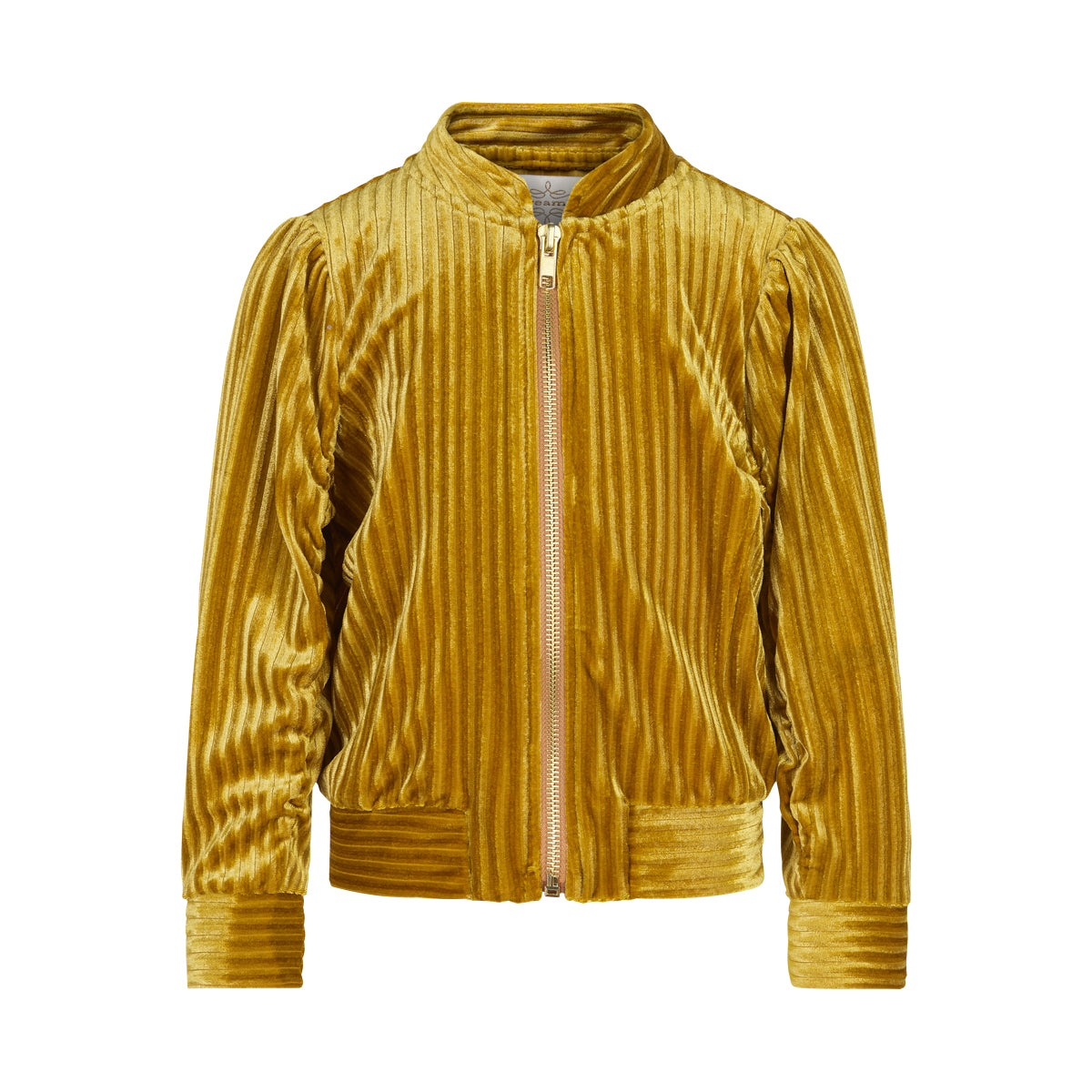 Image of   Creamie - Bomber Jacket Velvet (840157) - Harvest Gold