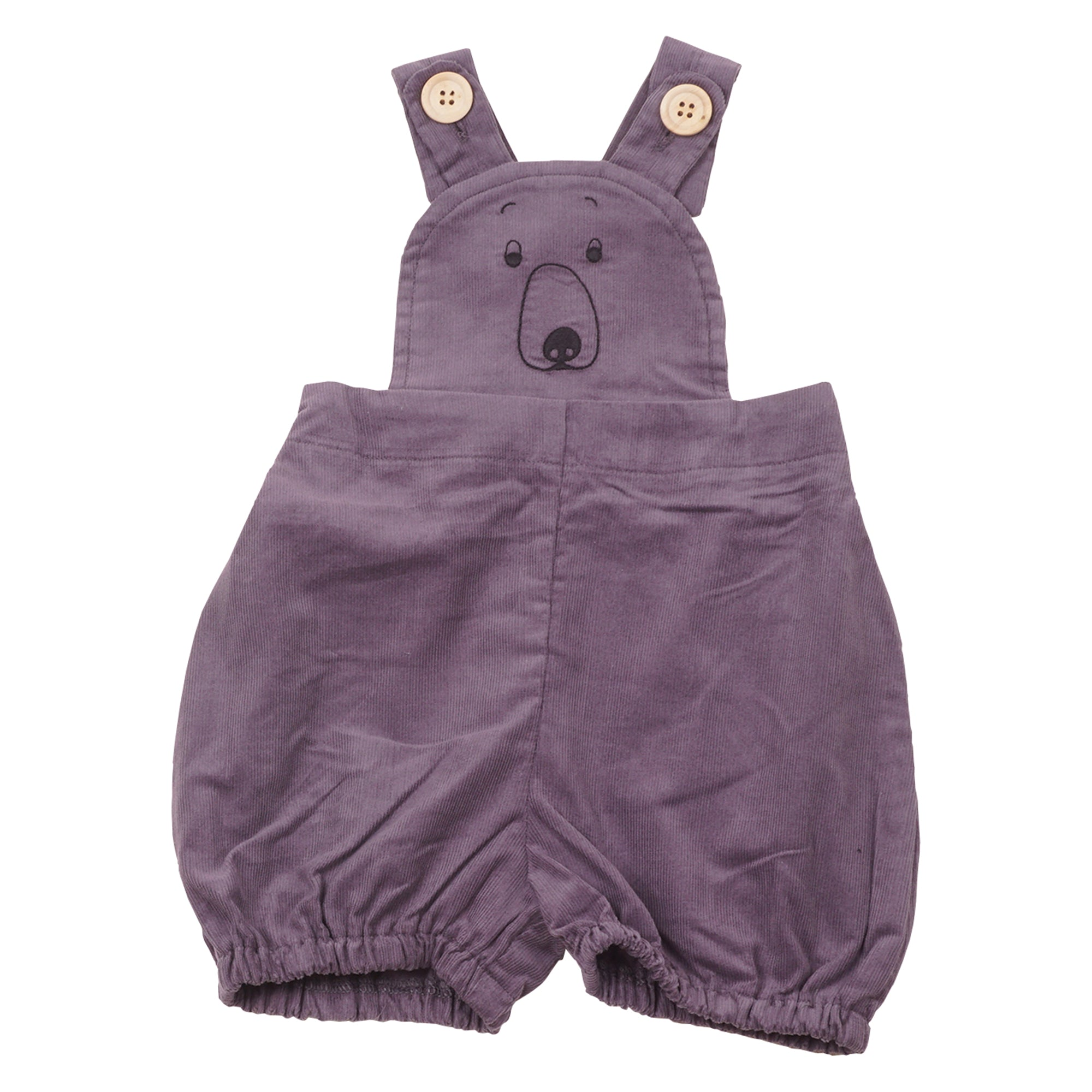Image of   KRUTTER - Bear Shorts Overalls - Grey
