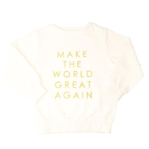 byClaRa - Sweatshirt (unisex), Make The World Great Again - Ivory