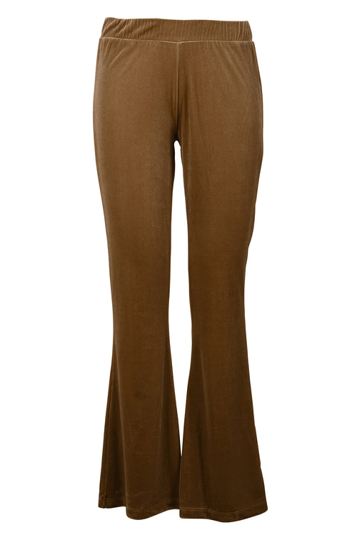 Cost:Bart - Cozy Flared Pants (C4752) - Sand Velvet