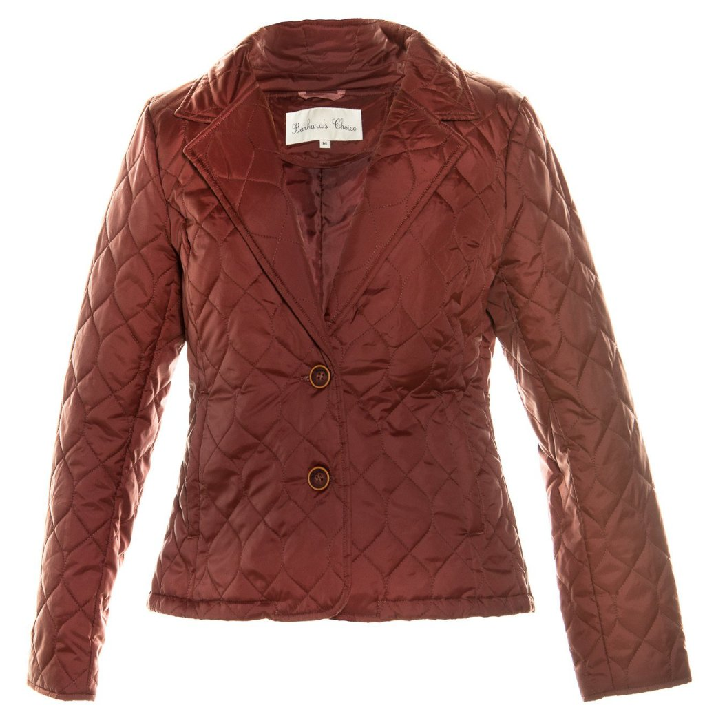 Barbara's Choice - Elegant kort termoblazer, Model Angeline - Deep Burgundy