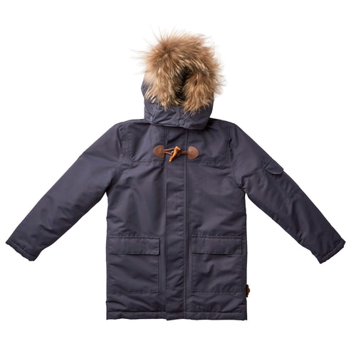 byLindgren - Gorm Winter Jacket Fur - Night Blue