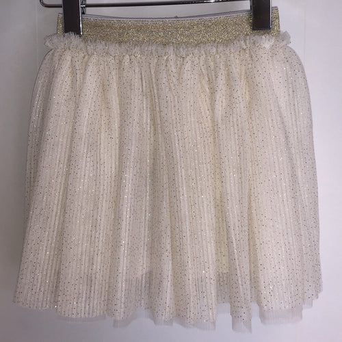 Petit by Sofie Schnoor - Skirt, Amalia - Off White / Gold