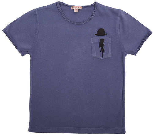 Émile et Ida - T-shirt, K463C - Blueberry