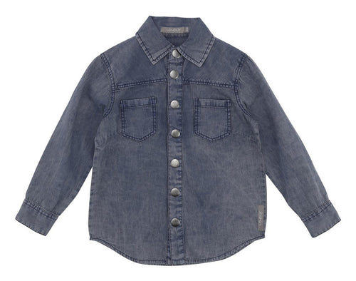 Loudly denim skjorte - Molly - Light Denim