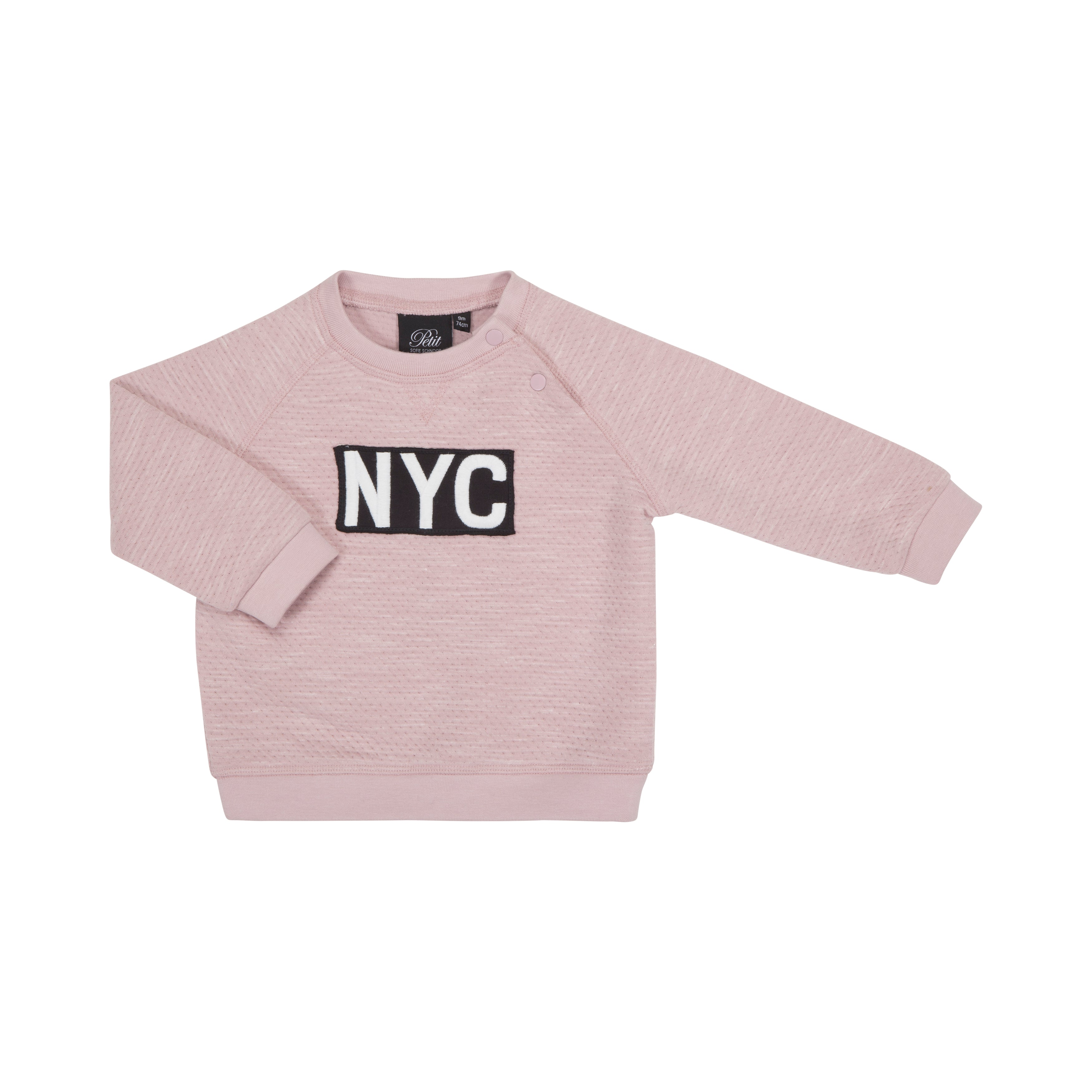 Petit by Sofie Schnoor - Baby Sweatshirt, NYC - Powder