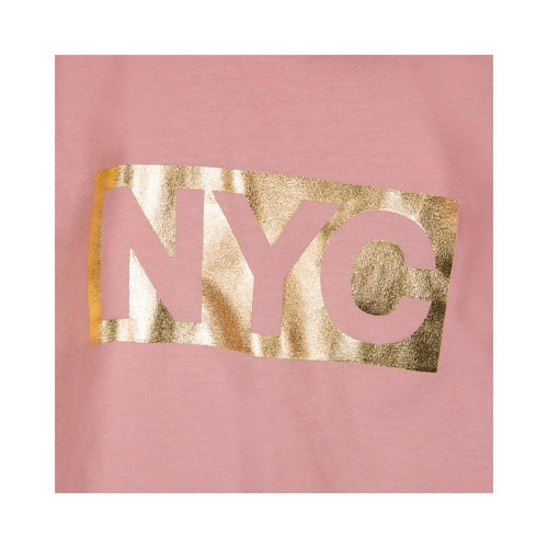 Petit by Sofie Schnoor - T-shirt SS, NYC (P192608) - Rose