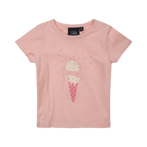 Petit by Sofie Schnoor - T-shirt SS, Penelope (P192641) - Peachy Rose