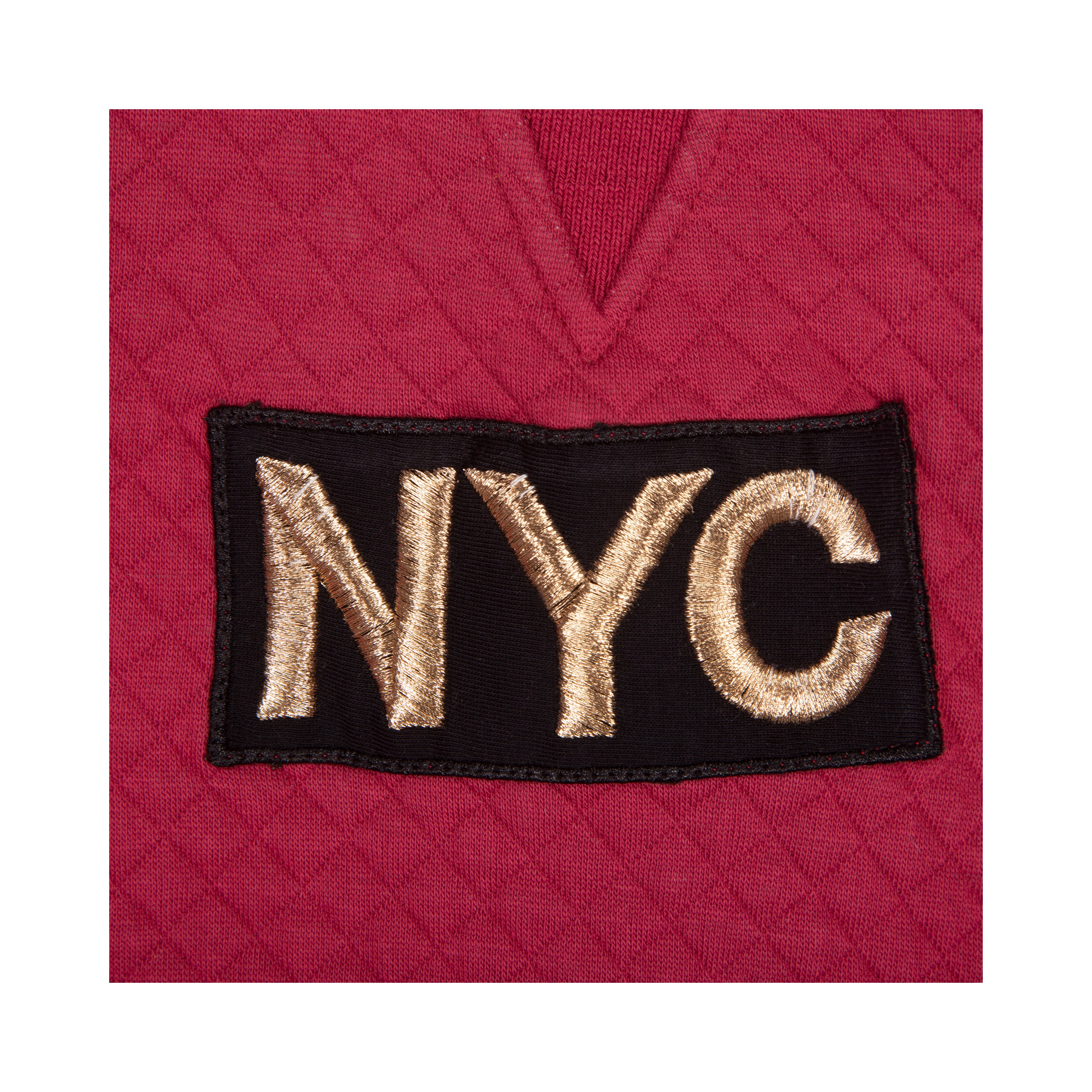 Petit by Sofie Schnoor - Sweatshirt, NYC Quilt - Earth Red