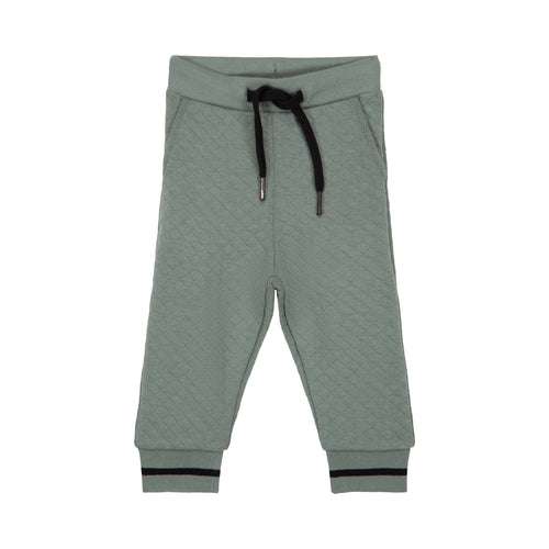 Petit by Sofie Schnoor - Sweatpants, Quilt - Dusty Green